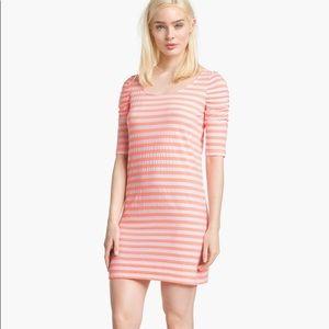 Lilly Pulitzer 'Kaley' Neon Stripe T-Shirt Dress